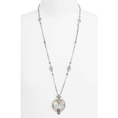 Konstantino Sterling And Gold Pendant Necklace