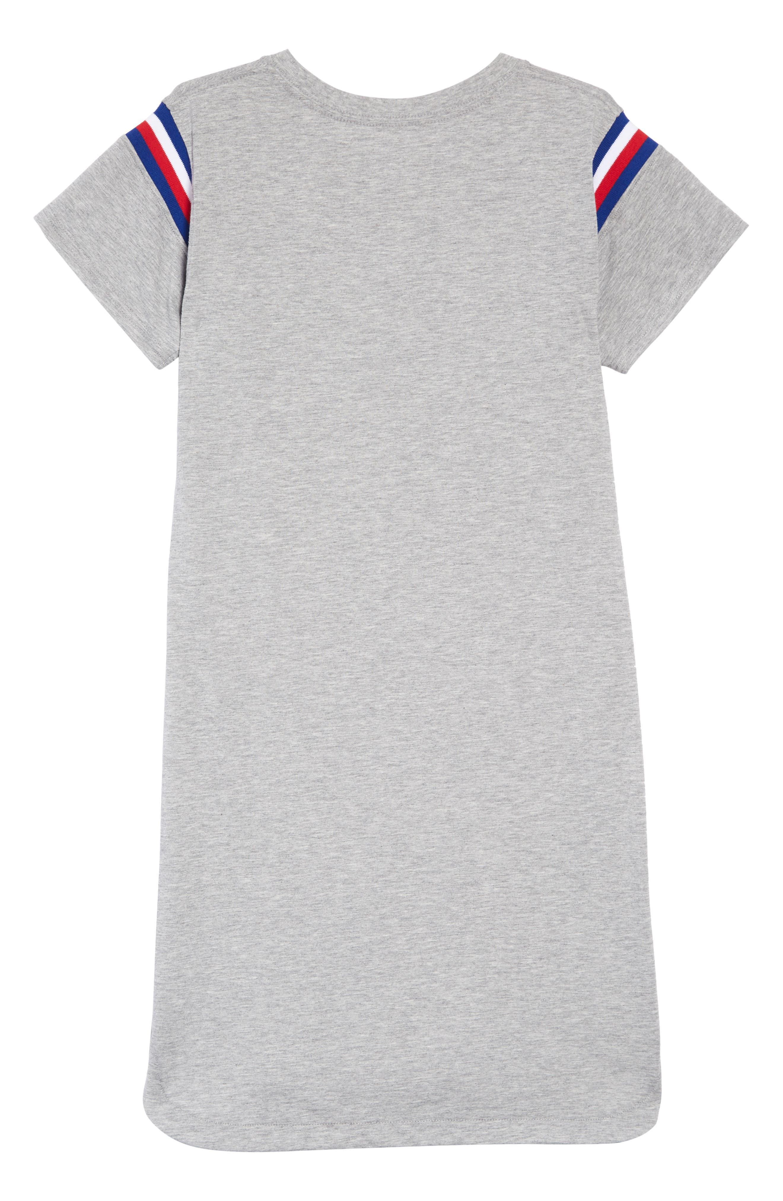 ,                             All Star Logo Jersey Dress,                             Alternate thumbnail 2, color,                             DK GREY HEATHER