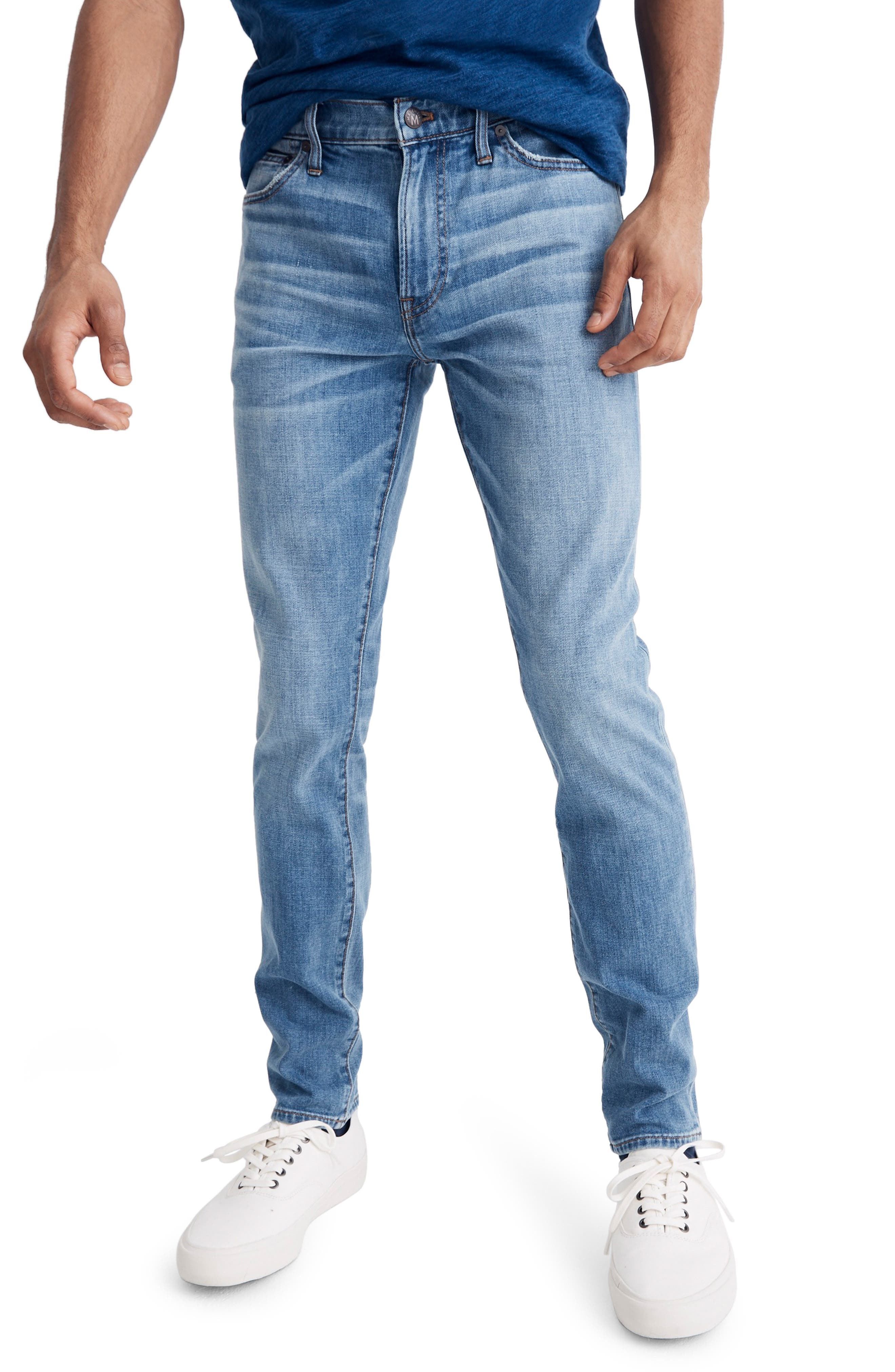 Skinny Fit Jeans, Main, color, STEVENS