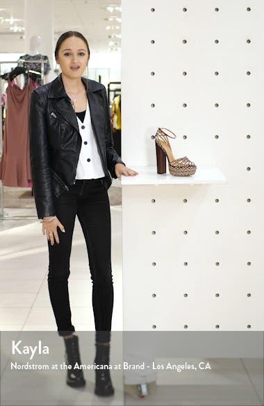 Cozumel Plateau Braided Sandal, sales video thumbnail