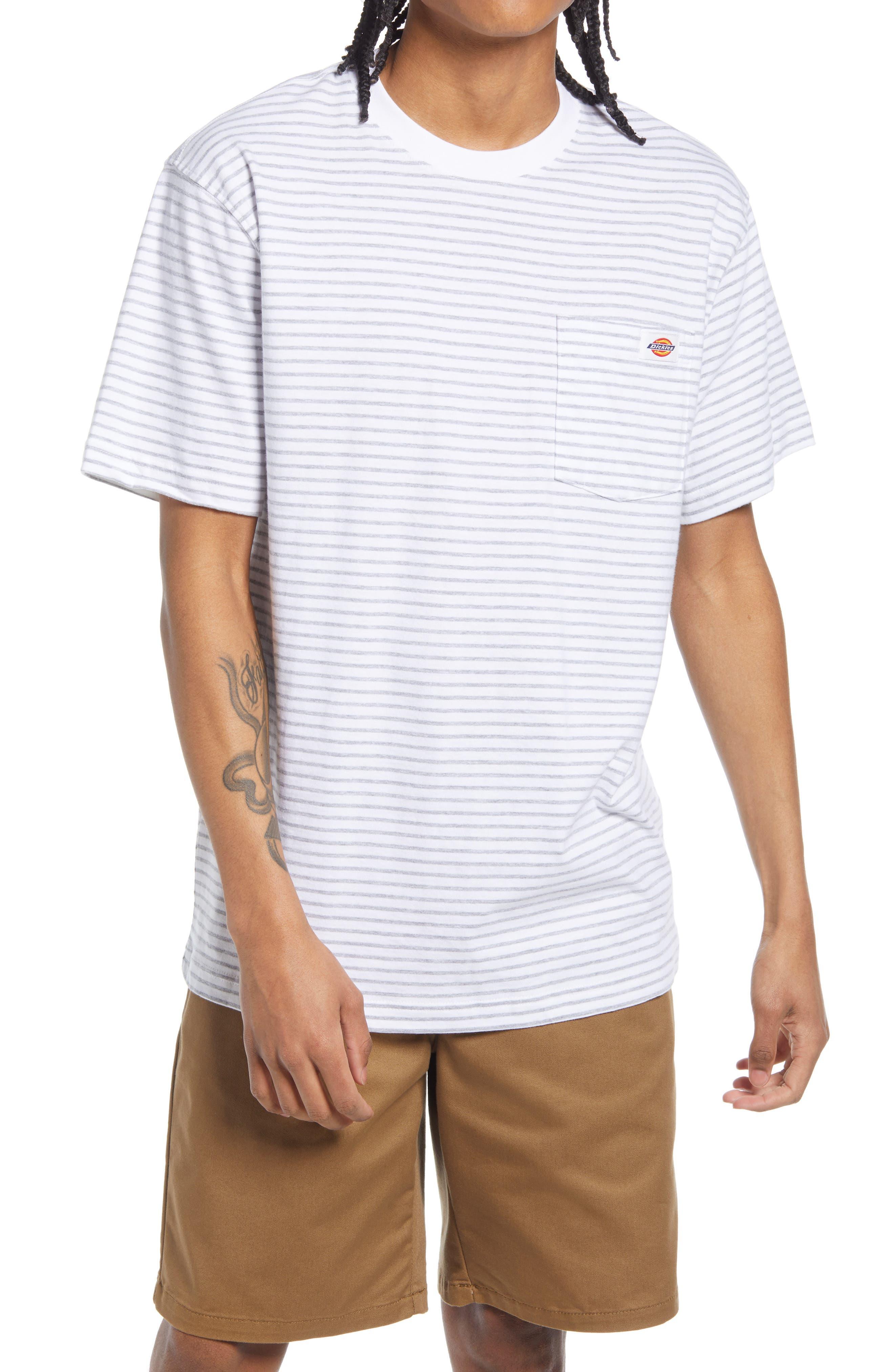 Clean Utility Core Stripe Pocket T-Shirt