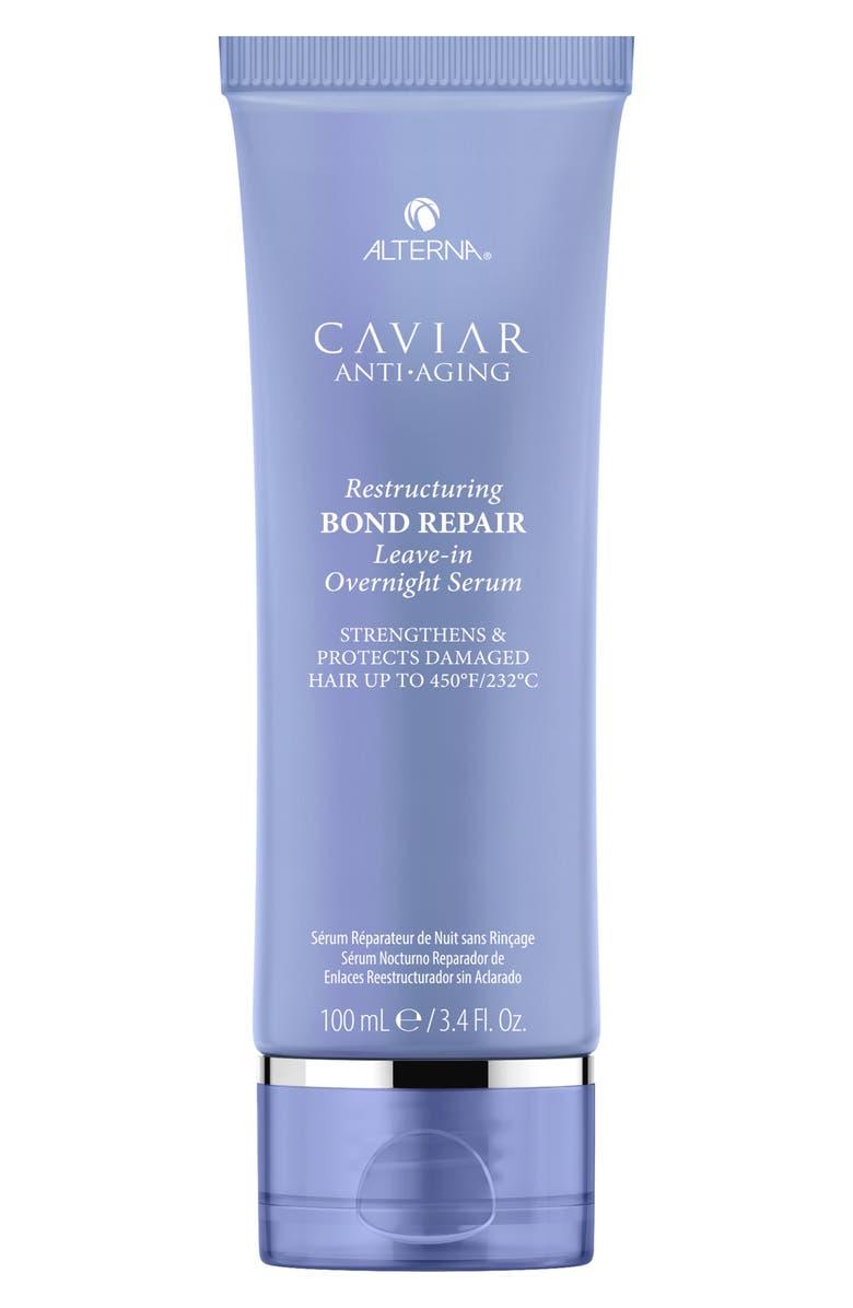 ALTERNA<SUP>®</SUP> Caviar Anti-Aging Restructuring Bond Repair Leave-in Overnight Serum, Main, color, NO COLOR