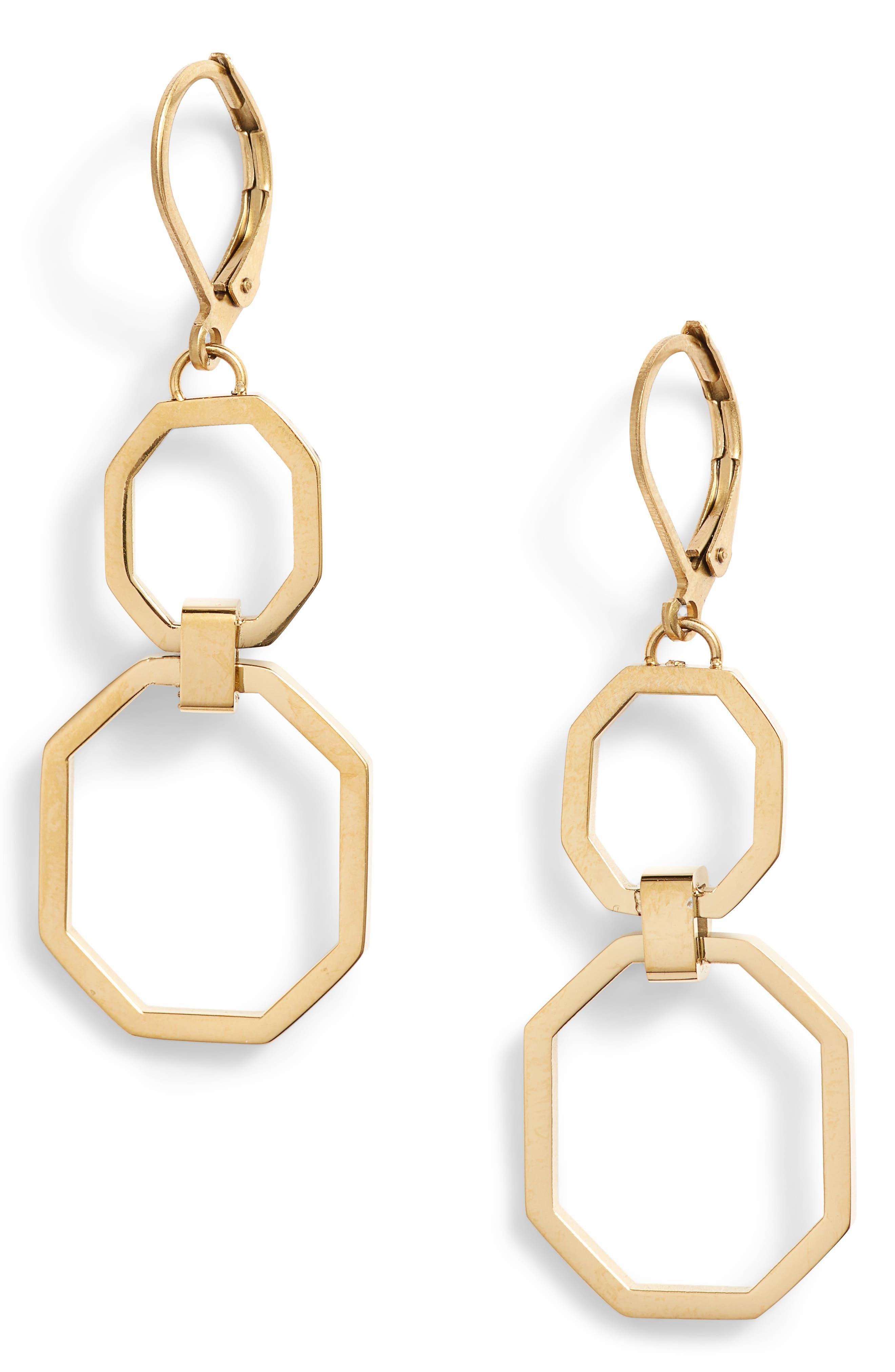 Link Drop Earrings