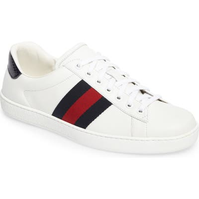 Gucci New Ace Clean Sneaker, White