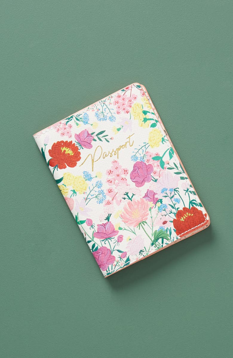 ANTHROPOLOGIE Jackie Diedam Passport Holder, Main, color, 650