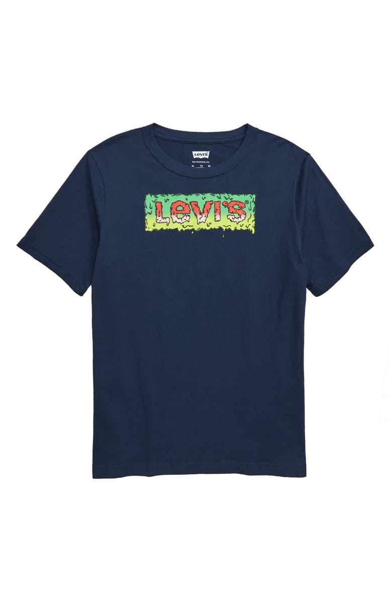 LEVI'S<SUP>®</SUP> Goosebumps Graphic T-Shirt, Main, color, 404