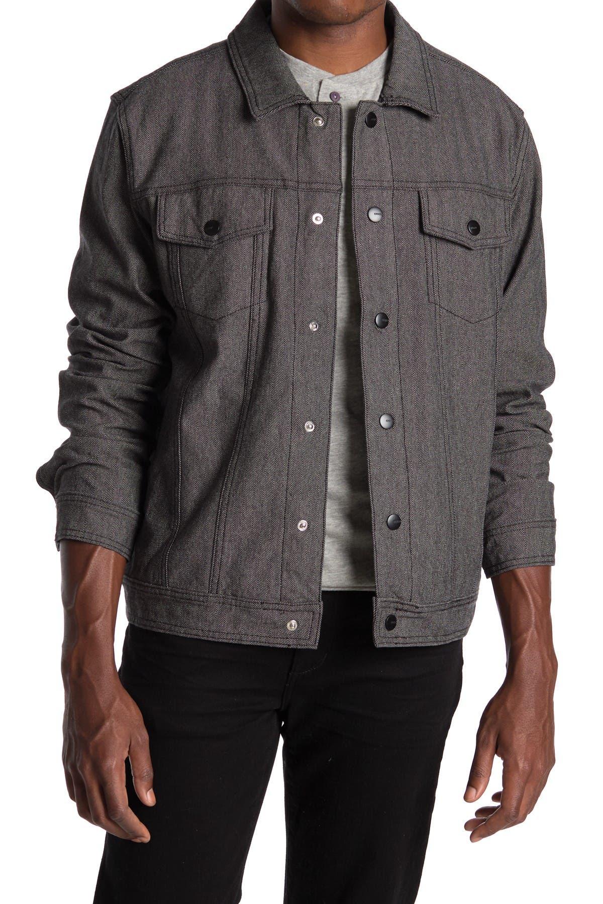 Image of Ezekiel Now Denim Herringbone Jacket