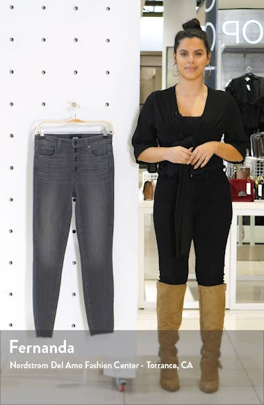 Transcend Hoxton High Waist Ankle Skinny Jeans, sales video thumbnail