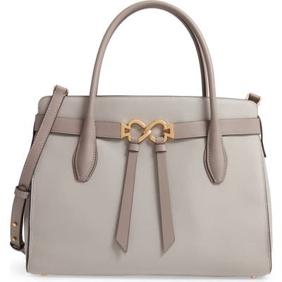 Kate Spade New York Large Toujours Leather Satchel - Grey