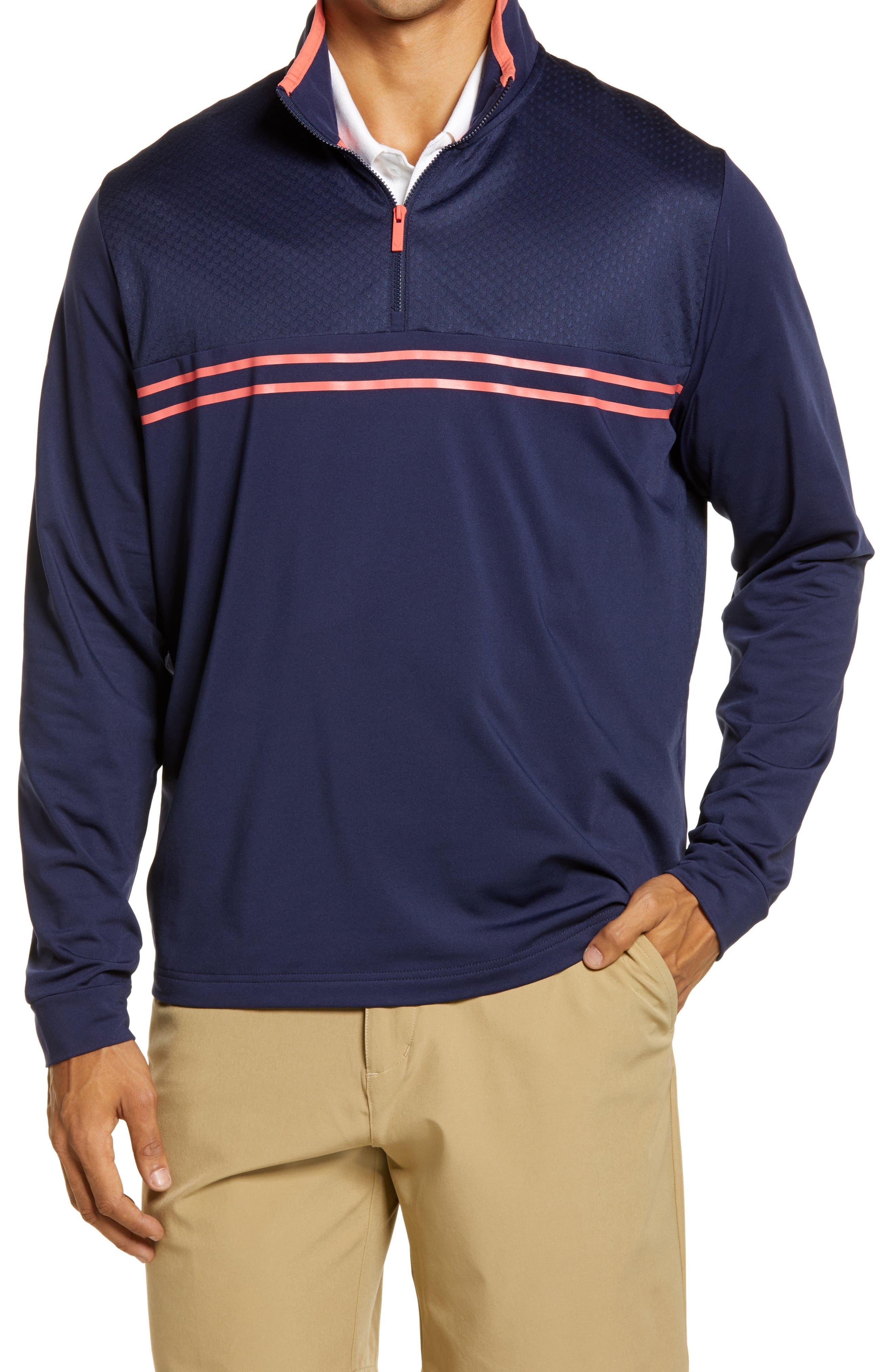Men's Callaway Golf Mixed Media Half Zip Pullover