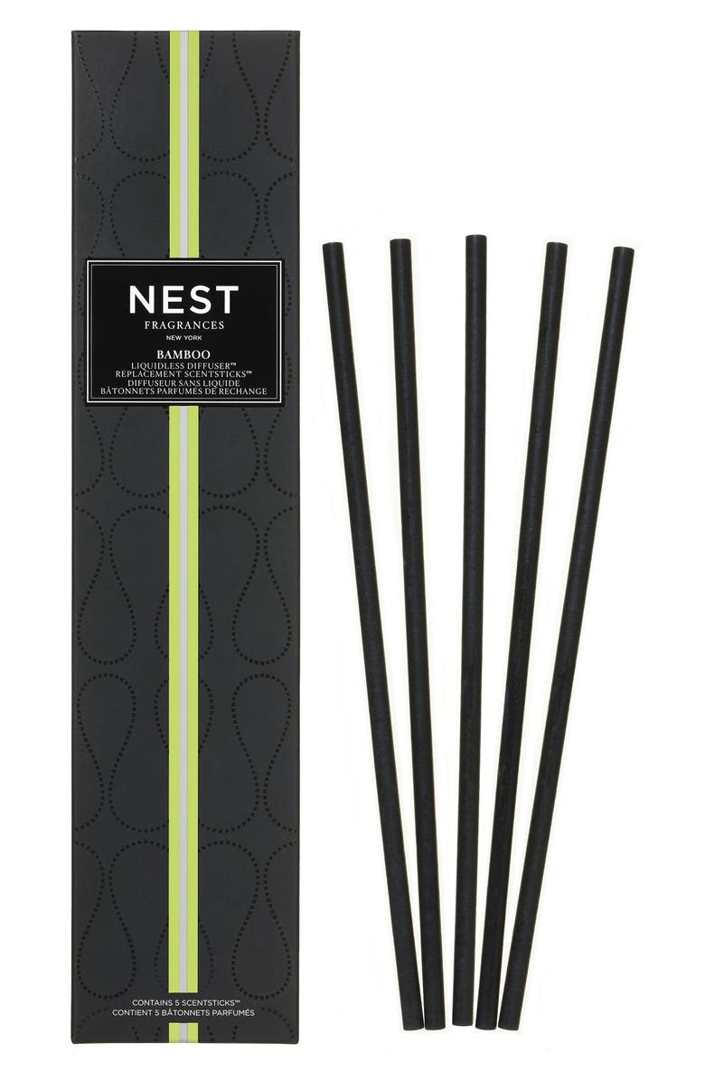 NEST FRAGRANCES Bamboo Liquidless Diffuser Refill, Main, color, NO COLOR