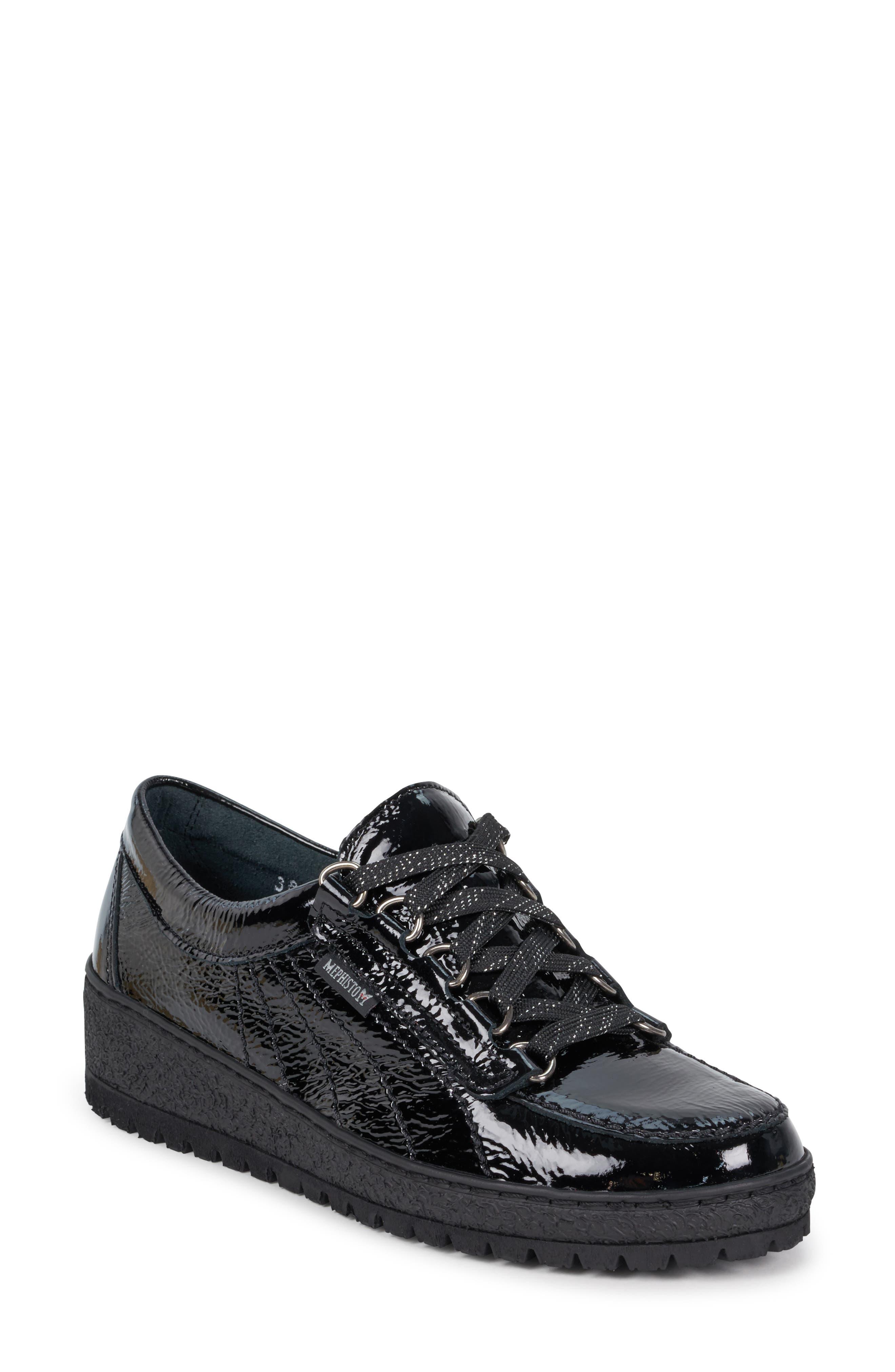 Mephisto Lady Low Top Sneaker- Black