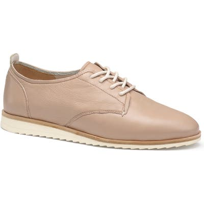 Trask Audrey Lace-Up Derby, Pink