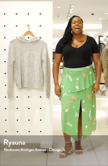 Plush Hooded Wool Blend Sweater, sales video thumbnail