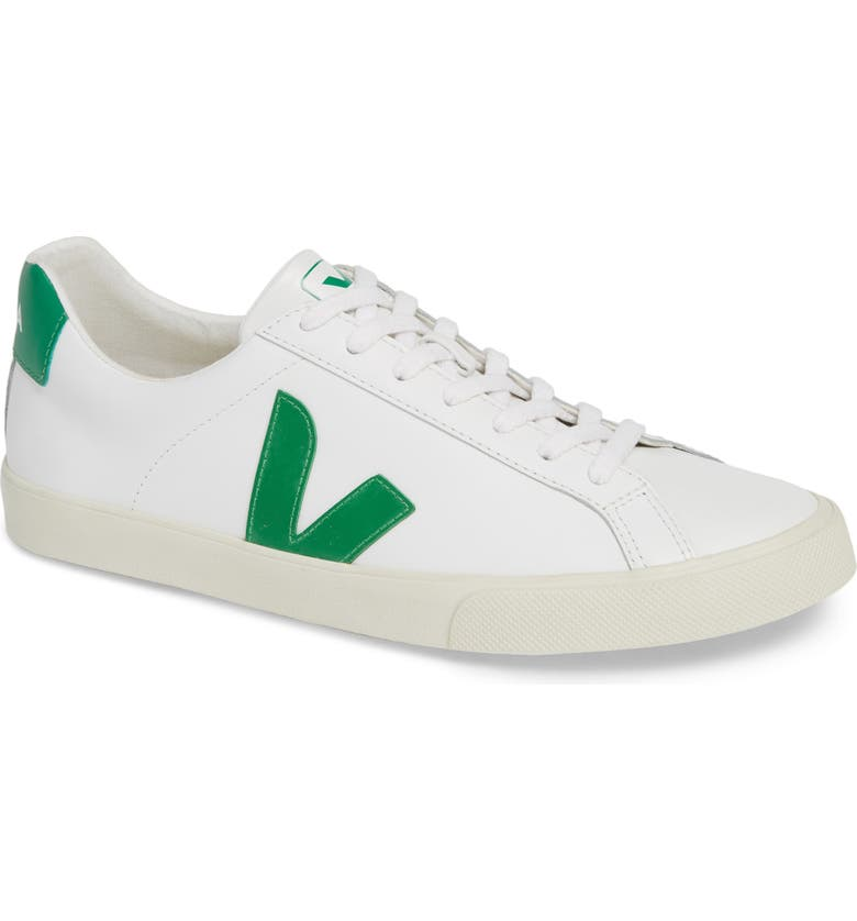 VEJA Esplar Sneaker, Main, color, EXTRA WHITE EMERAUDE