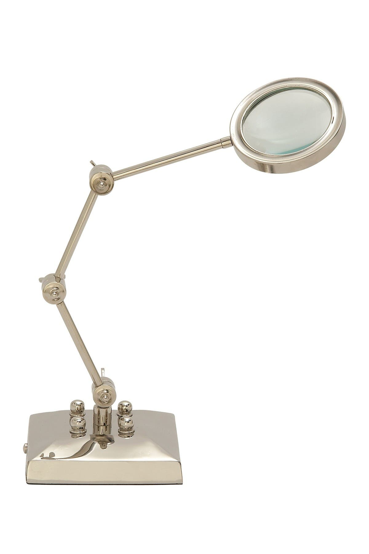 Image of Willow Row Silver Aluminum Traditional Magnifying Glass