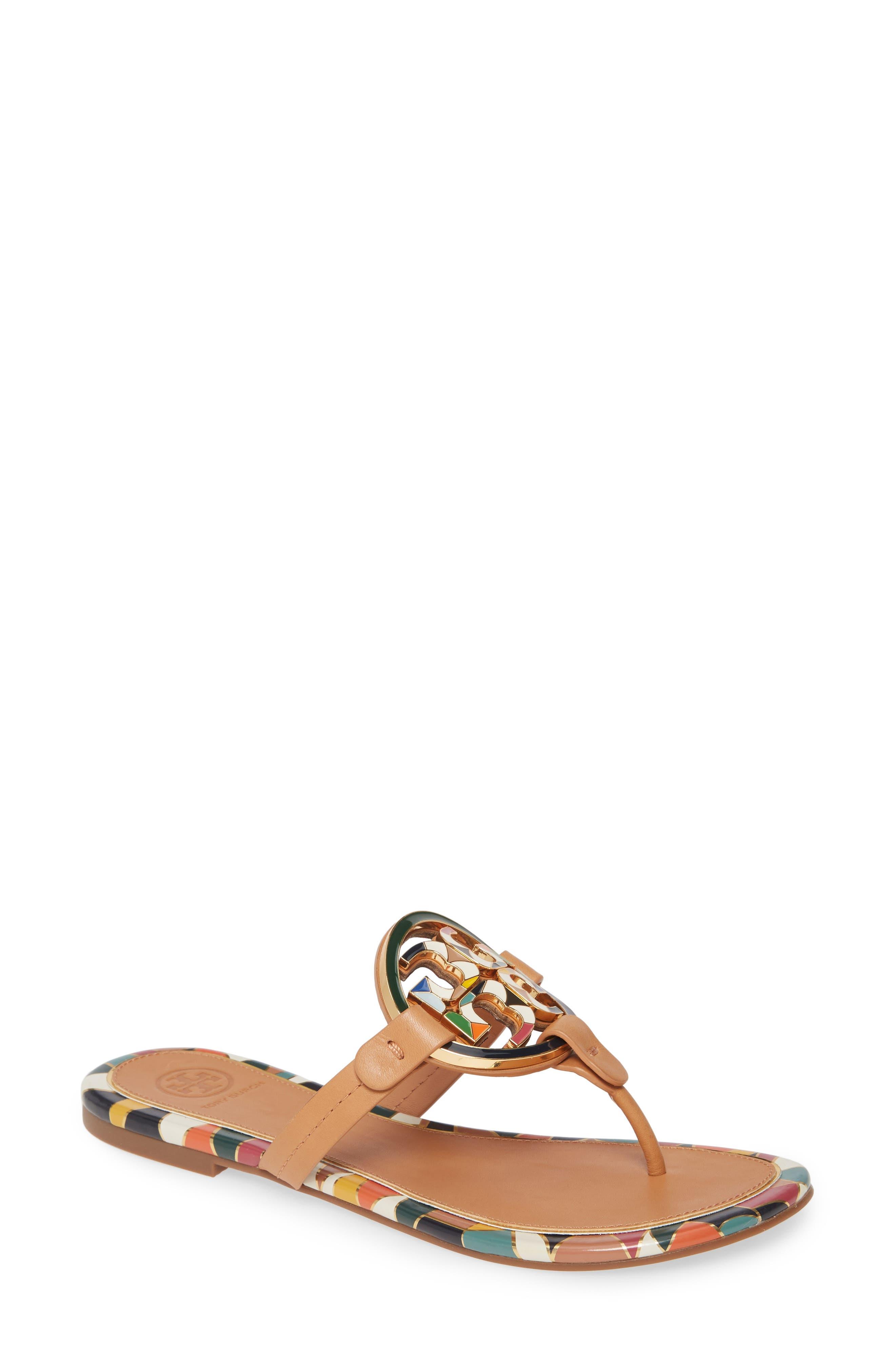 Tory Burch Miller Enamel Logo Flip Flop (Women)