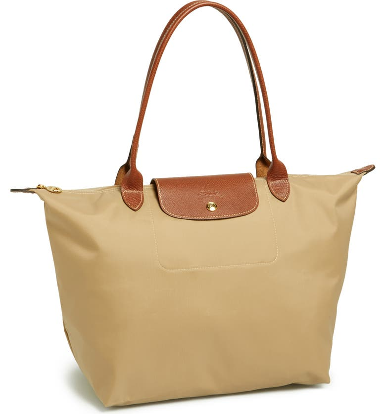 LONGCHAMP Large Le PliageTote, Main, color, 250