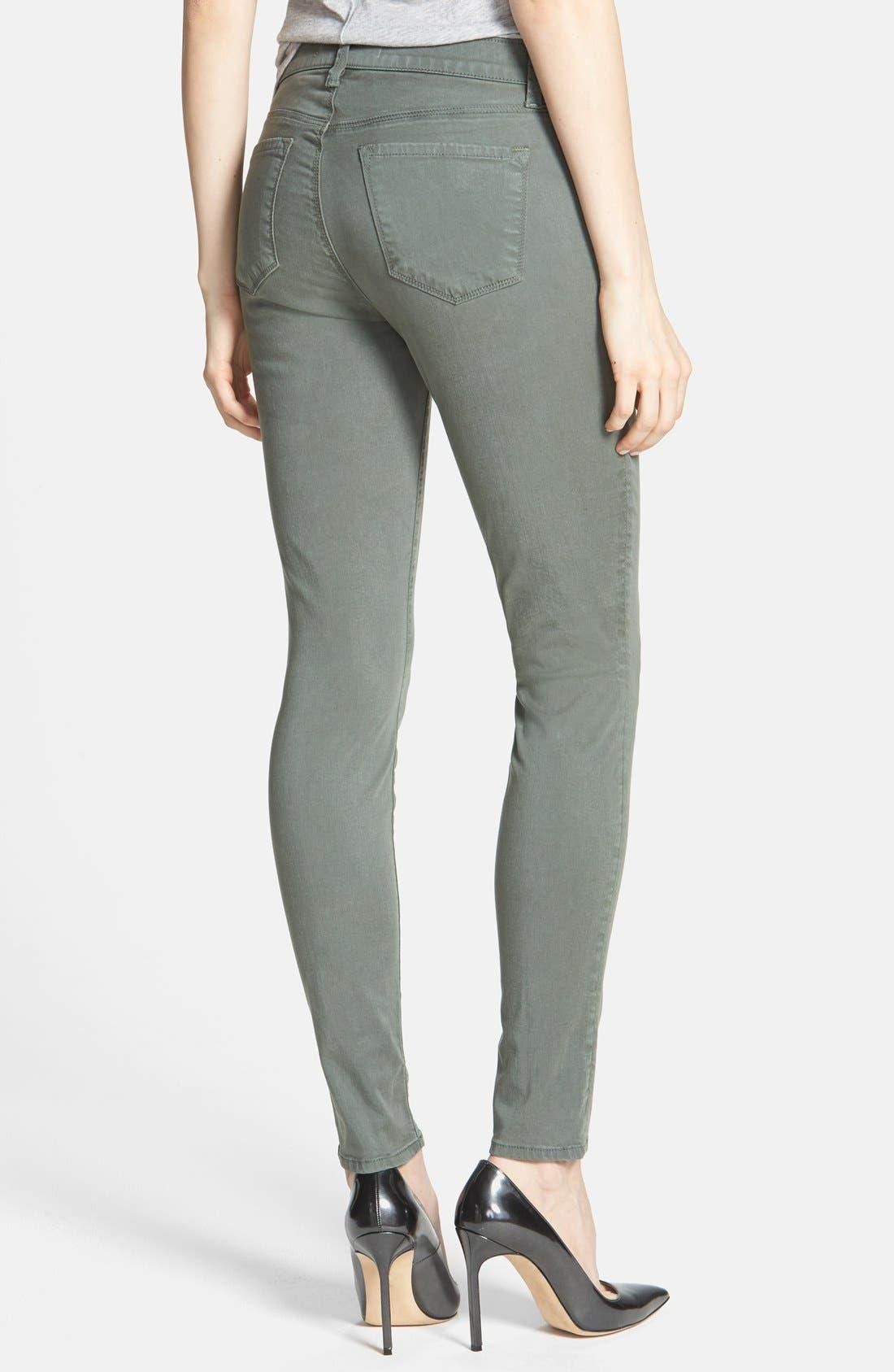 ,                             '485' Mid Rise Super Skinny Jeans,                             Alternate thumbnail 35, color,                             324