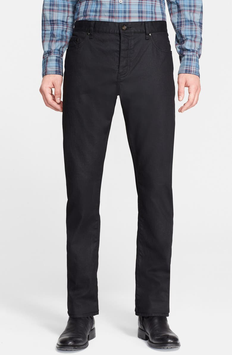 JOHN VARVATOS Collection Slim Fit Jeans, Main, color, 465