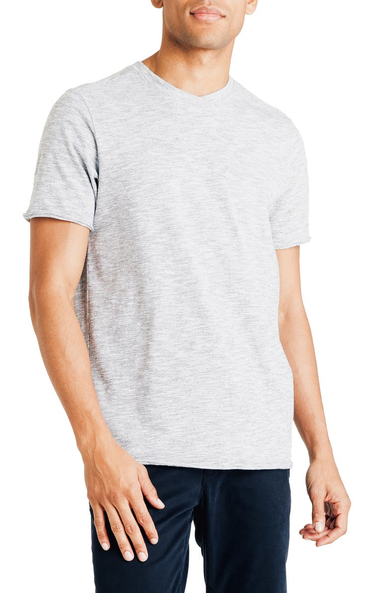 GOOD MAN BRAND Slim Fit V-Neck T-Shirt, Main, color, 001
