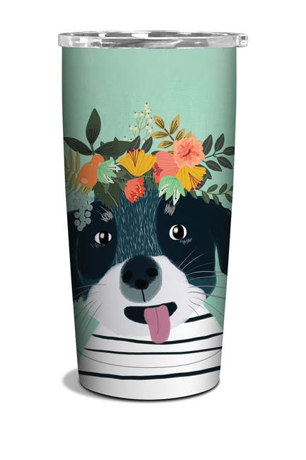Image of ORANGE CIRCLE STUDIO Fancy Dog Tumbler
