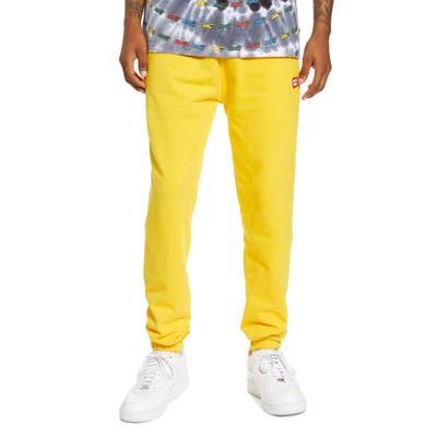 Icecream Ripstick Sweatpants, Yellow