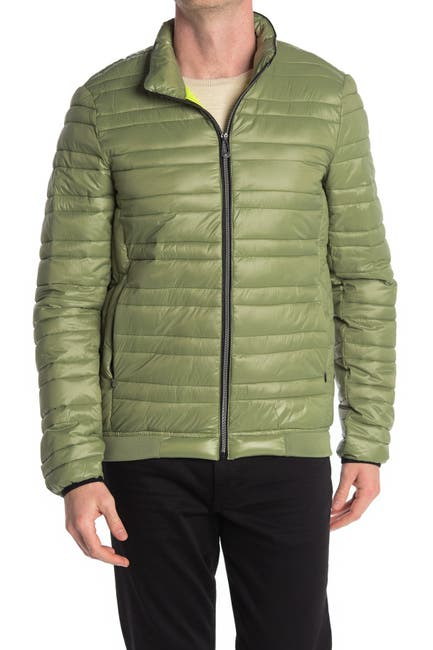 Image of NOIZE Colton Puffer Zip Front Jacket
