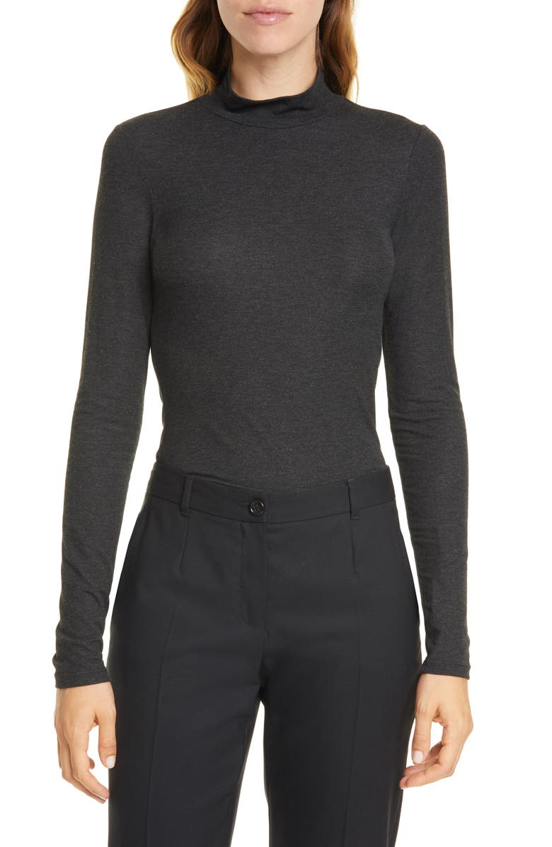 THEORY Relaxed Turtleneck Sweater, Main, color, 020