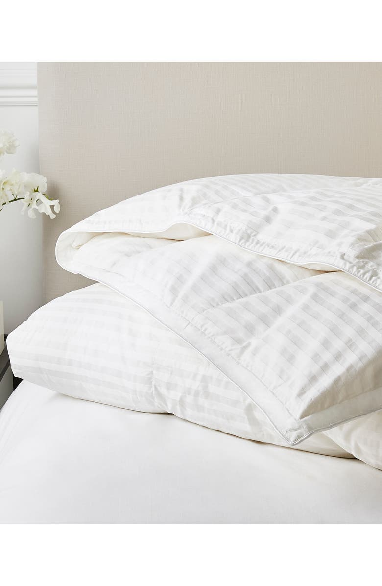 THE WHITE COMPANY Ultra Warmth Hungarian Goose Down & Feather Comforter, Main, color, 100