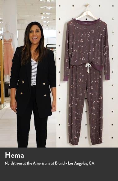 Star Seeker Brushed Jersey Pajamas, sales video thumbnail
