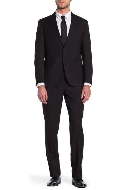 Image of Dockers Black Two Button Notch Lapel Suit