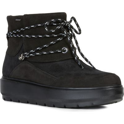 Geox Kaula Waterproof Bootie, Black