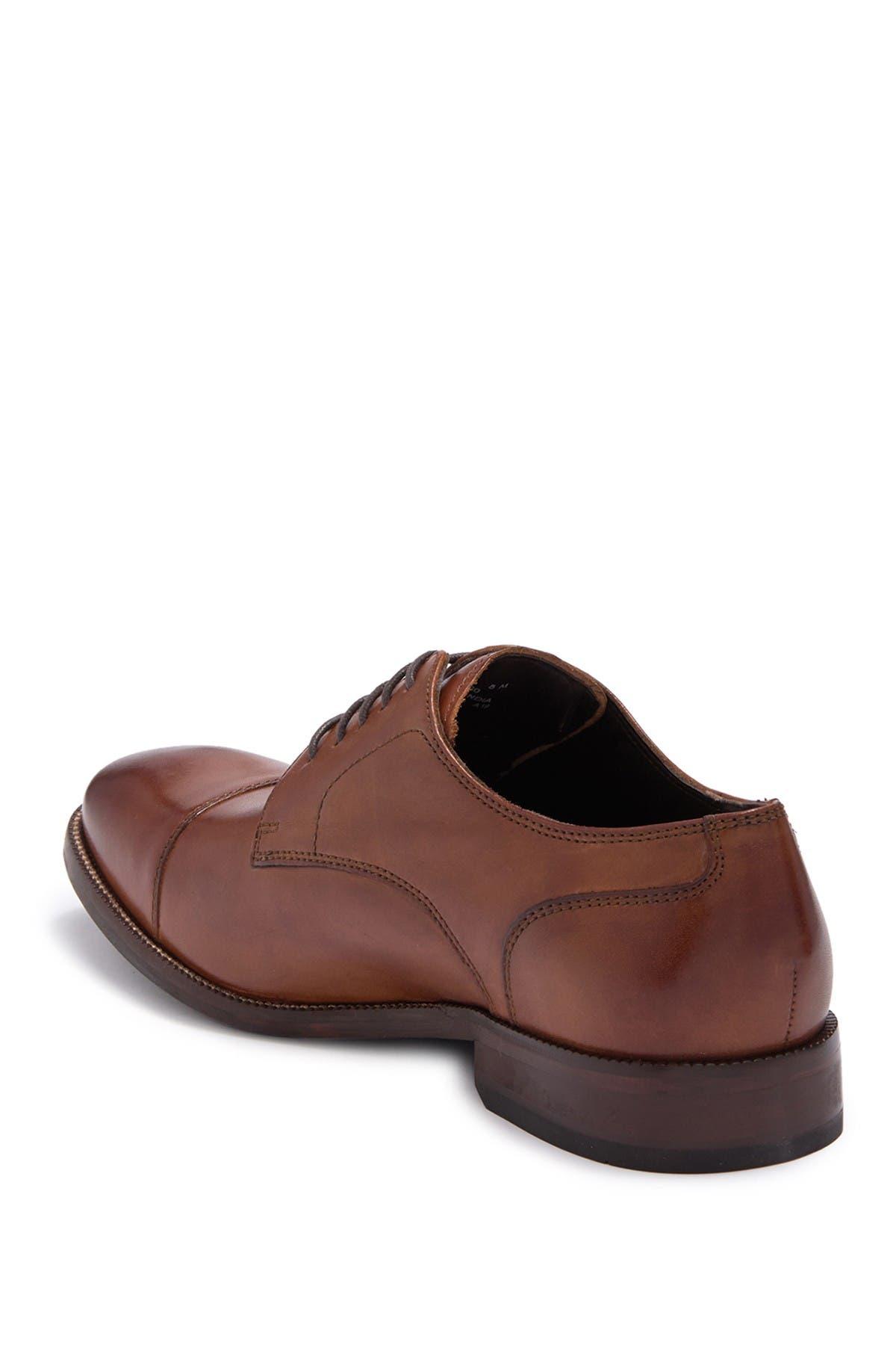 Cole Haan Benton Leather Cap Toe Derby II - Wide Width Available
