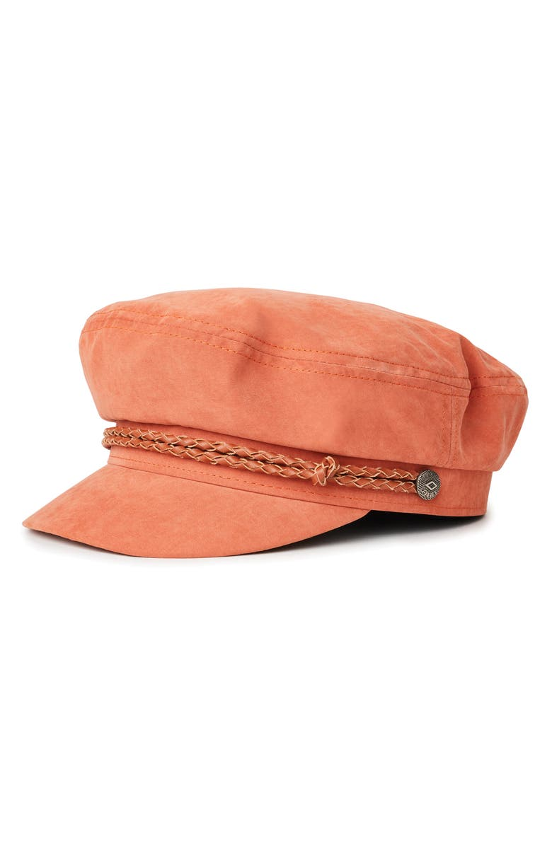 BRIXTON Ashland Fisherman Cap, Main, color, CORAL