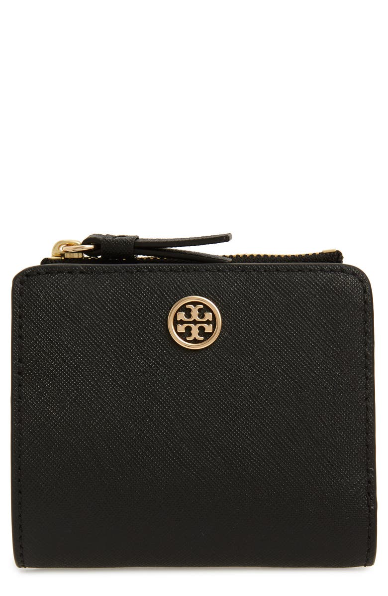 TORY BURCH Robinson Mini Wallet, Main, color, 001