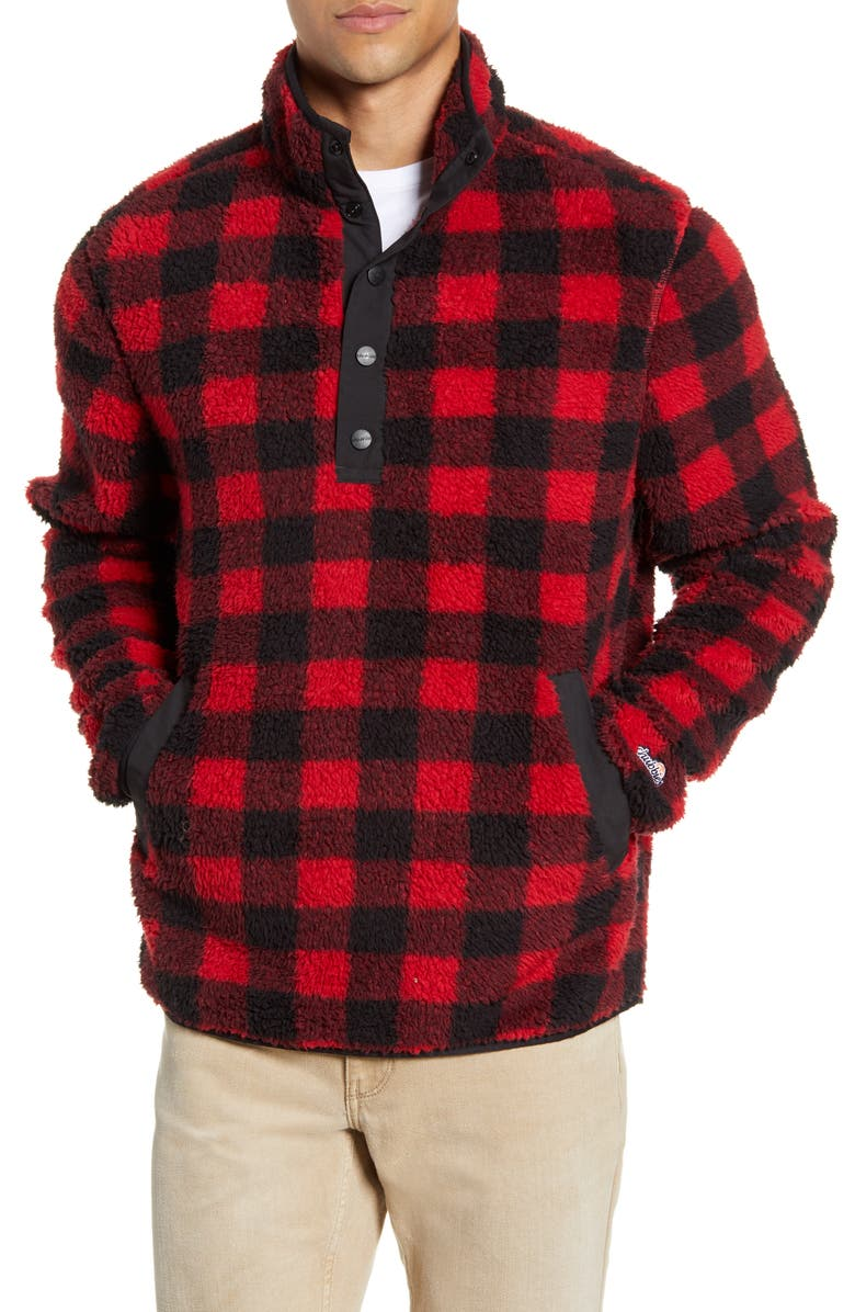 CHUBBIES The Mountain Retreat Buffalo Check Pullover, Main, color, 600