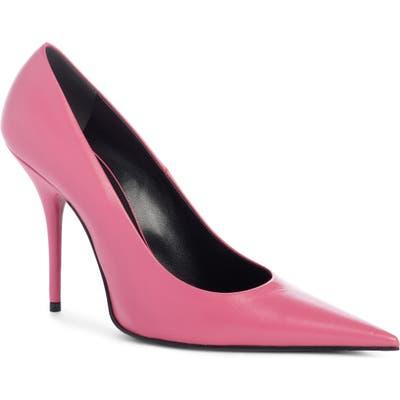 Balenciaga Pointy Toe Pump, Pink