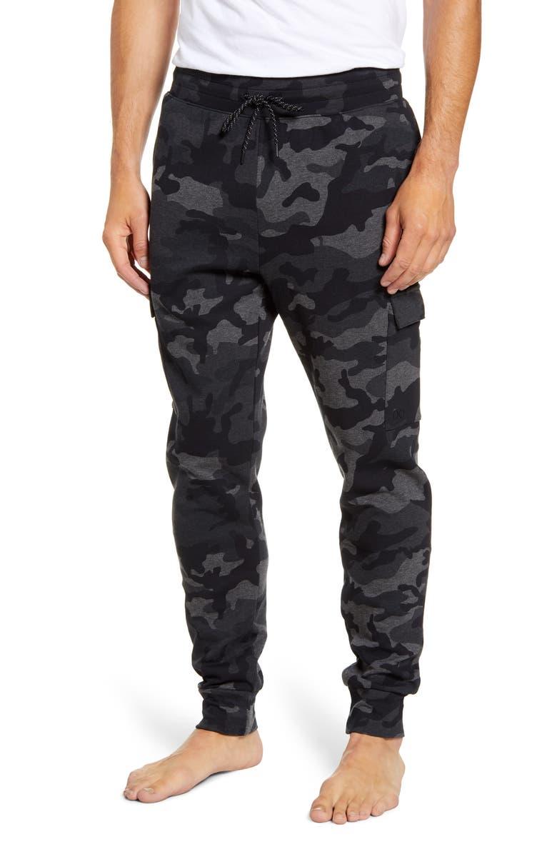 2(X)IST Camo Cargo Pajama Pants, Main, color, HEATHER CAMO