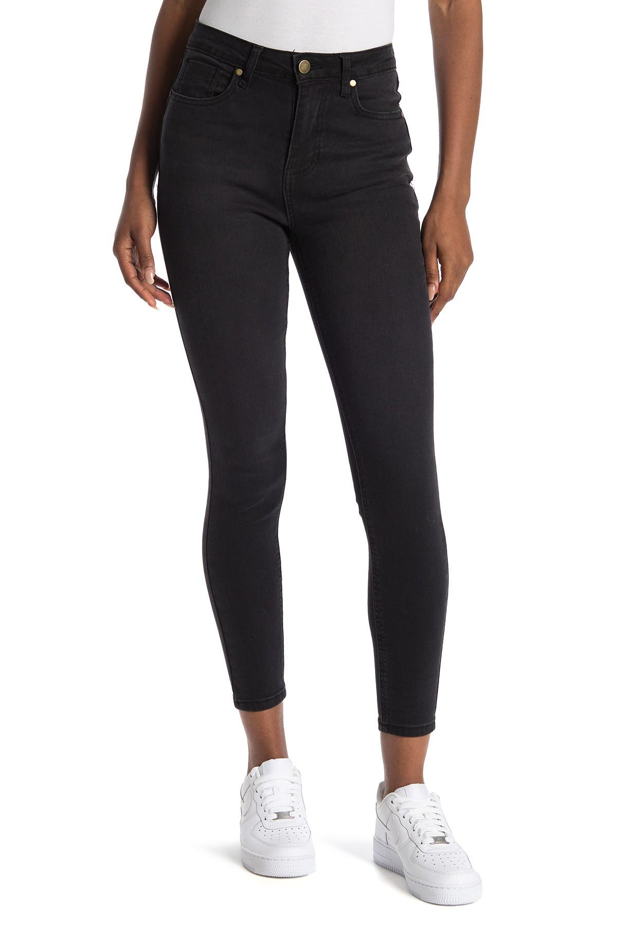 Image of Abound High Rise Skinny Jean - Black
