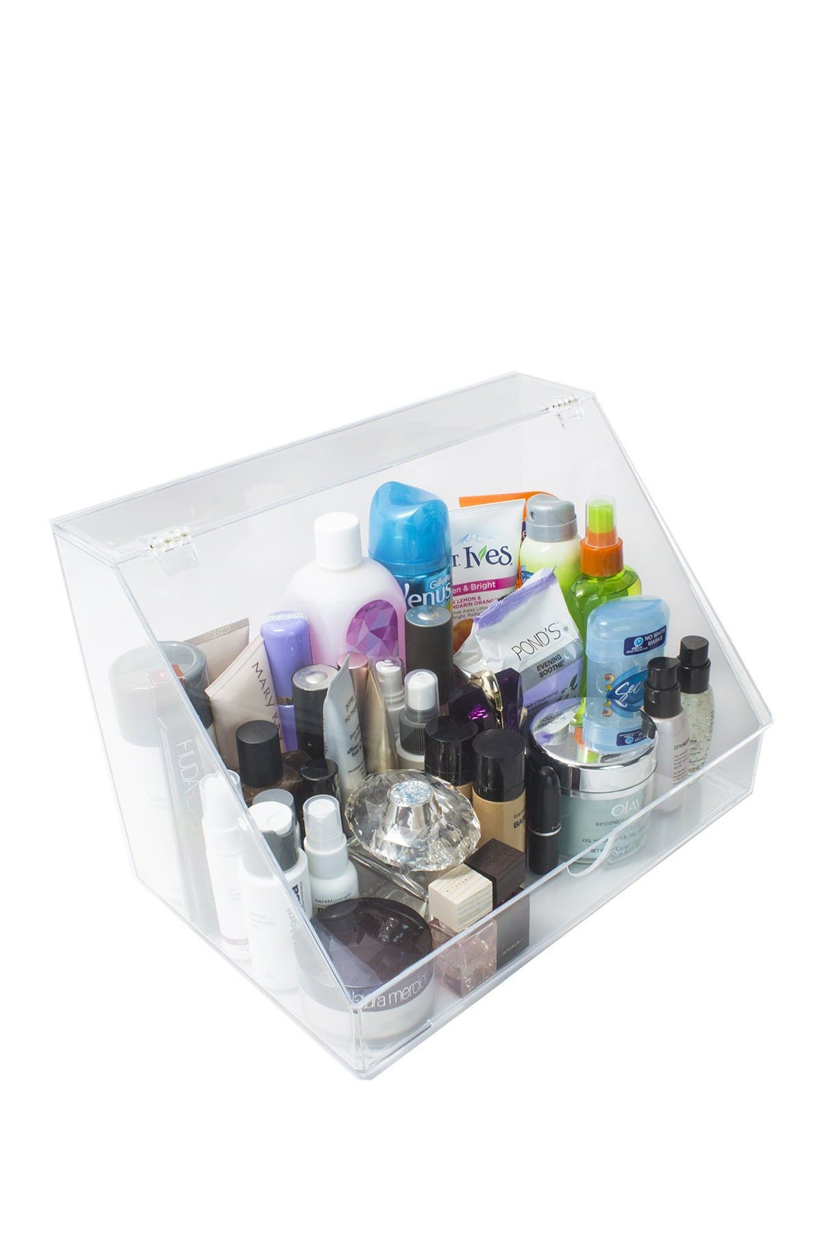Image of Sorbus Acrylic Makeup Organizer Display Case & Palette Holder