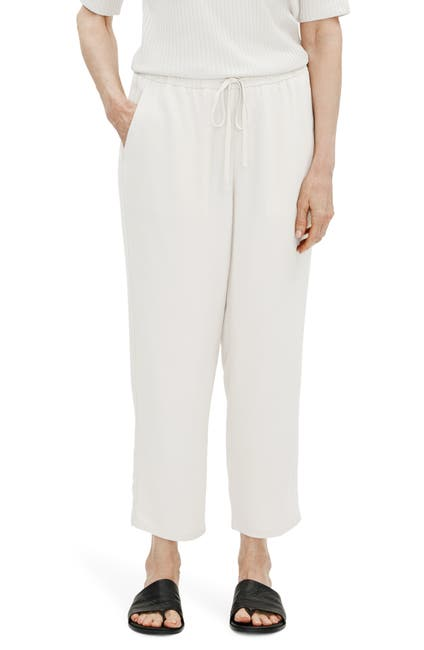 Image of Eileen Fisher Wide Leg Ankle Pants