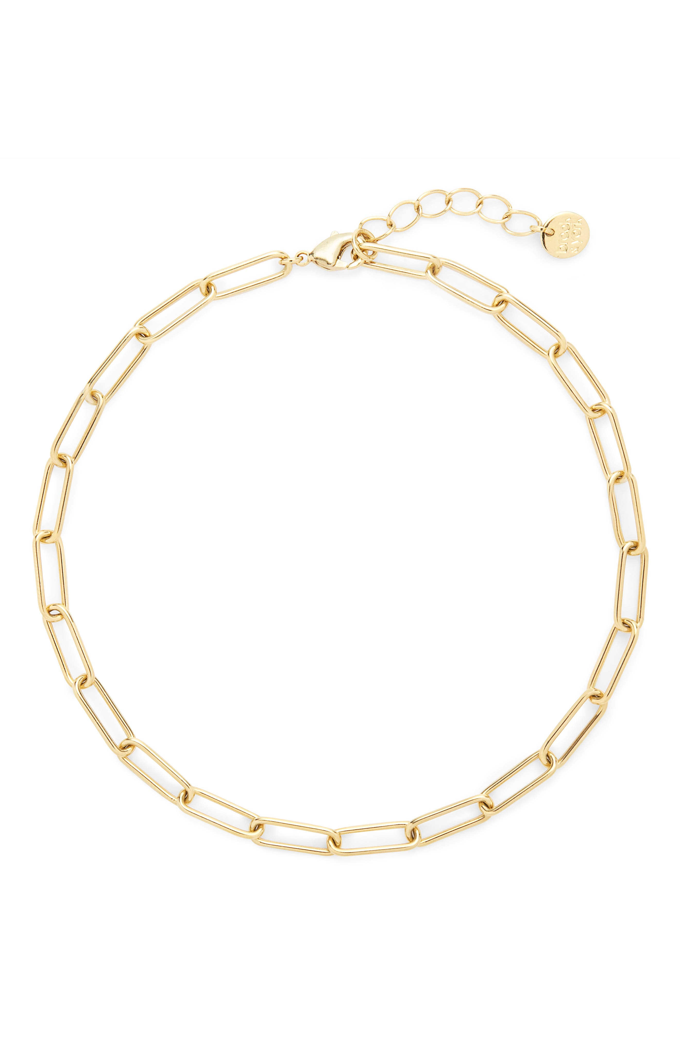 Colette Cable Chain Anklet