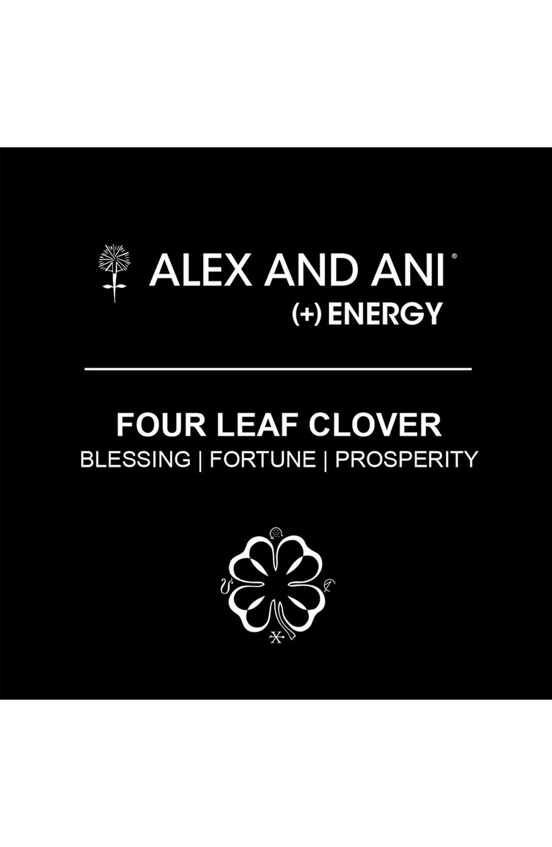 ,                             'Four Leaf Clover' Expandable Wire Bracelet,                             Alternate thumbnail 5, color,                             710