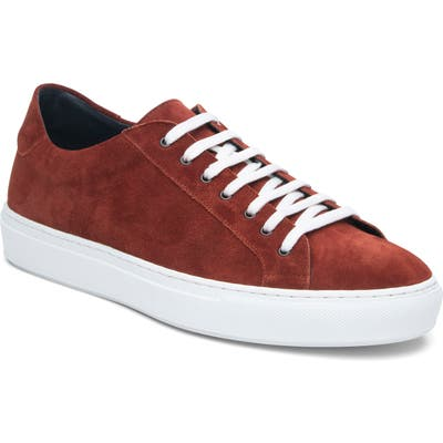 Ankari Floruss Low-Top Sneaker- Red