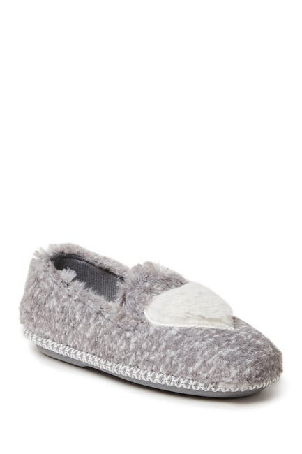 Image of Dearfoams Mia Faux Fur Slipper