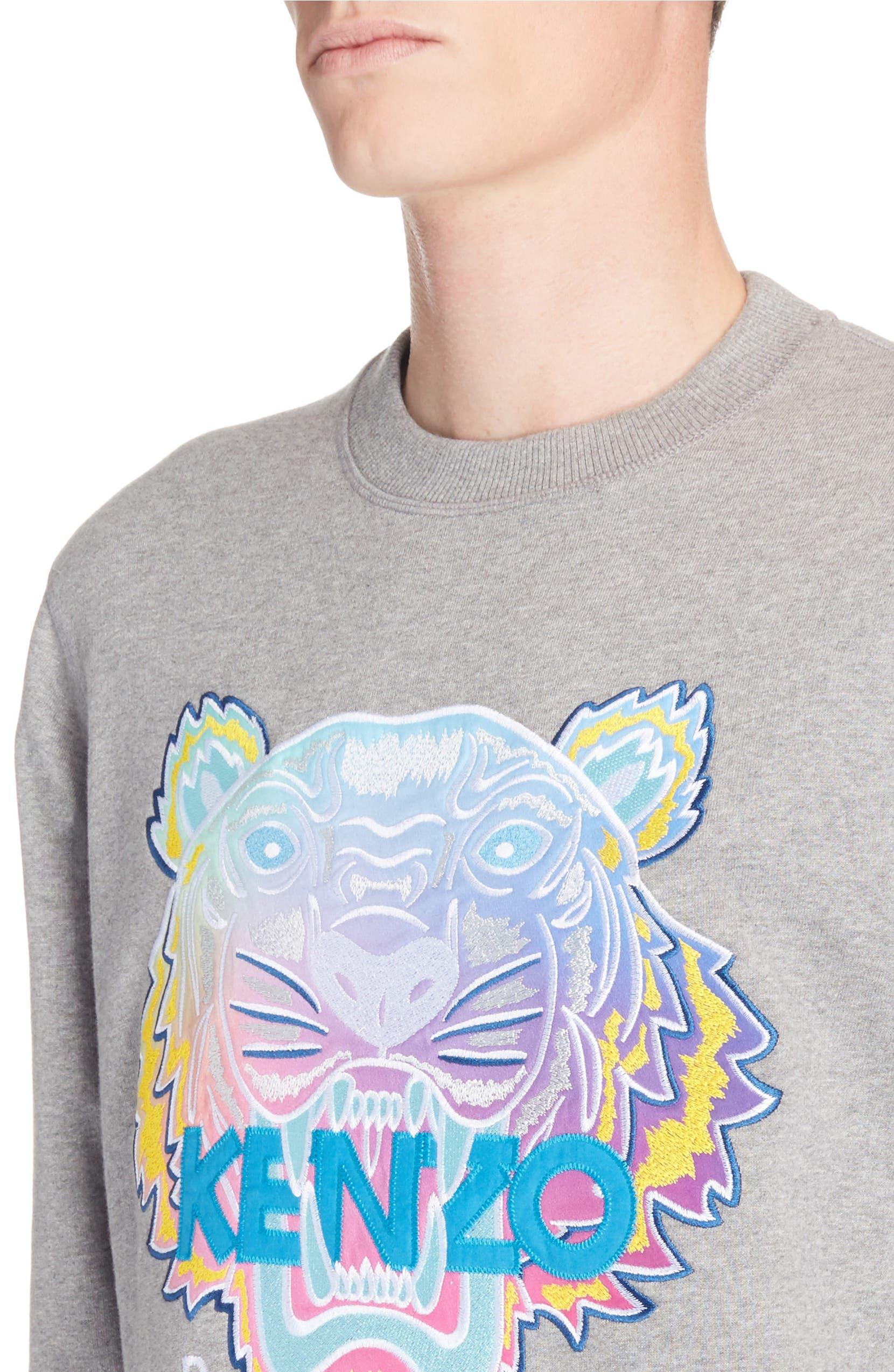 a914e849 KENZO Rainbow Tiger Crewneck Sweatshirt | Nordstrom