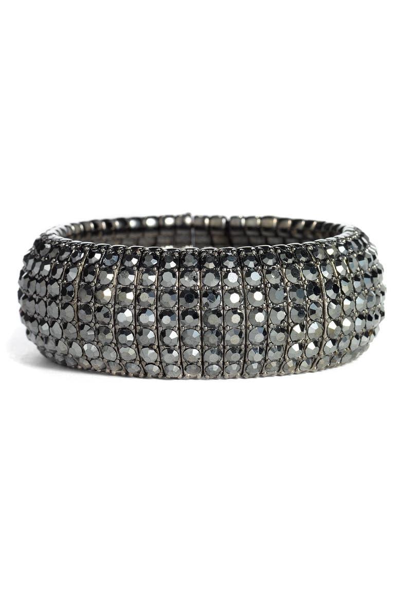 TASHA Crystal Stretch Bracelet, Main, color, 002