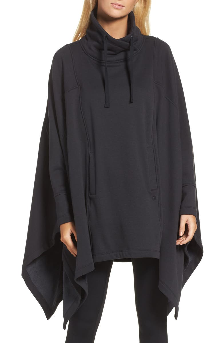 UGG<SUP>®</SUP> Cozy Lounge Poncho, Main, color, 001
