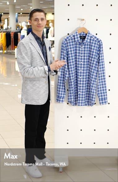 Eiffletonv Regular Fit Gingham Button-Up Shirt, sales video thumbnail